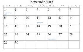 thanksgiving 2009 calendar august 2009 calendar printable