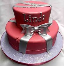 the cakes birthday pink and silver birthday cake cakepins com