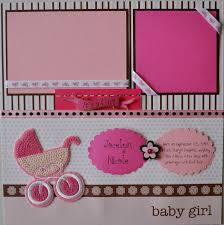 baby girl scrapbook album new baby girl scrapbook layouts baby girl s year 22