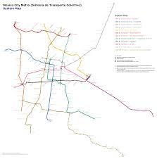 Mexico City Mexico Map by Mexico City Mexico Metasub