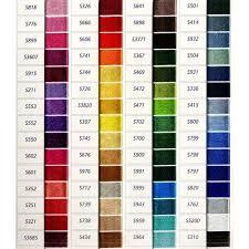 list of color dmc satin color chart list of colors color threads dmc threads