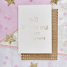 happy engagement card just got real happy engagement card by lola gilbert london ltd