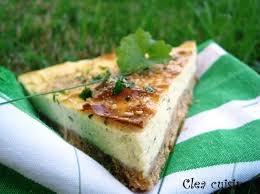 la cuisine de clea cheese cake herbivore au sésame clea cuisine