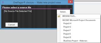phase gate timelines in microsoft project onepager pro
