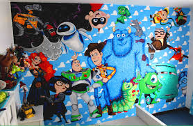 disney pixar wall mural youtube