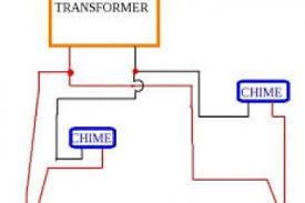 doorbell wiring diagram 2 bells wiring diagram