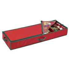 essential home gift wrap storage bag