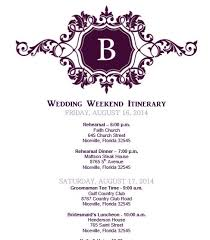 Destination Wedding Itinerary Wedding Agenda Traditional Wedding Agenda Example 8 Wedding