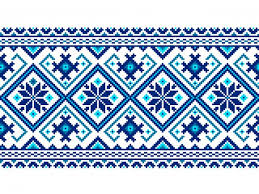 vector illustration of ukrainian folk seamless pattern ornament