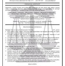 Personal Injury Paralegal Resume Sample Download Paralegal Resume Sample Haadyaooverbayresort Com
