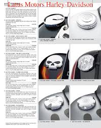 part 2 harley davidson parts and accessories catalog by harley