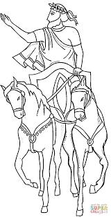 julius caesar coloring page coloring home