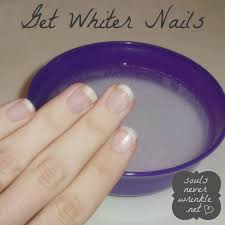 how to get whiter nails baking soda