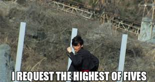 High Five Meme - epic high five reaction images know your meme