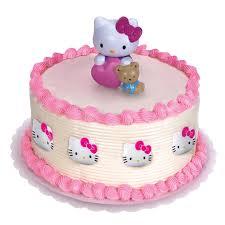 hello kitty cake topper and 8 rings birthdayexpress com