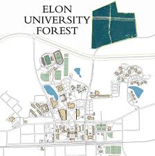 Phoenix College Campus Map by Elon University Elon Forest About The Forest