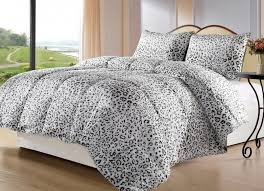 Leopard Print Duvet Wildly Chic Leopard Print Bedding