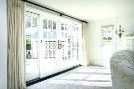 sliding glass door window treatment ideas glass sliding door window treatments patio door curtain ideas large