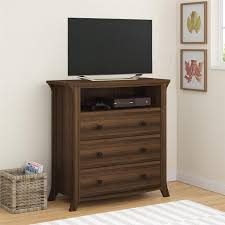 Bedroom Set With Media Chest Amazon Com Altra Oakridge 3 Drawer Media Dresser Homestead Oak