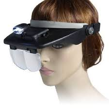 Light For Phone Magnifying Head Goggles With Led Light For Phone Repair Soldering