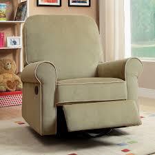 furniture madison moss green fabric nursery swivel glider