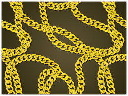 necklace link patterns images Create a gold chain pattern brush with illustrator jpg