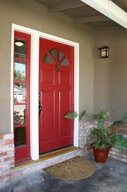 Front Door Storage by Decorations Cheery Dutch House With Red Glass Front Door And