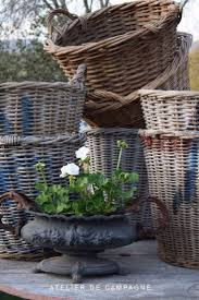 Garden Baskets Wall by 191 Best Baskets Images On Pinterest Wicker Baskets Basket And