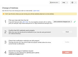 webmaster google webmaster tools change of address now works on subdomain moves