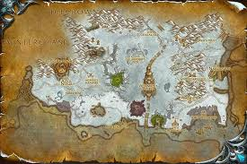 map quests dragonblight map with locations npcs and quests of warcraft
