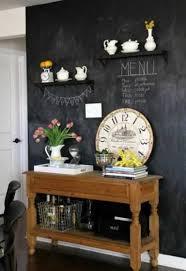 tableau noir cuisine idée déco diy un tableau noir bistrot dans ma cuisine