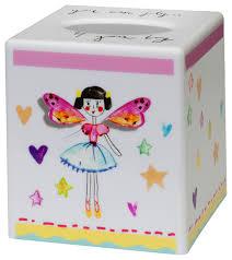 faerie princess tissue box cover eclectic kids bathroom
