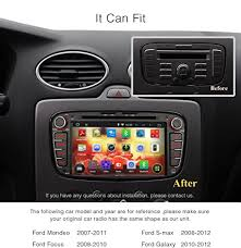 radio for ford focus pumpkin 7 android 5 1 lollipop 2 din car dvd player hd
