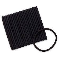 scunci hair scunci 5mm no damage thick hair black elastics 24ct target