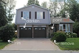 door tixeretne it was a simple matter of painting the garage doors