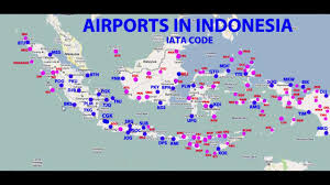 Mdc Map Airports In Indonesia Map Airports Indonesia Map South Eastern