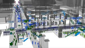 oasys software massmotion crowd simulation and pedestrian