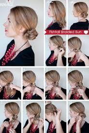 how to braid short hair step by step fish braid tutorial for short hair foto video