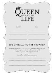 Holiday Gift Card Template Holiday Gifts Fit For A Queen Queen Of Your Own Life