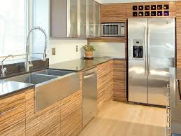 cool bamboo kitchen cabinets featuring brown color bamboo cabinets