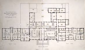 ground floor plan parliament buildings front st toronto as in