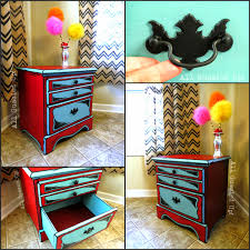 Dr Seuss Bedroom Dr Seuss Illustrations Inspired Night Stand And Table Hand