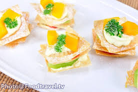 canapes fruit fruit canape canape polamai ruam foodtravel tv recipe
