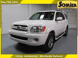 2005 toyota sequoia limited specs 05 toyota sequoia limited white 4x4 4wd heated leather 8 passenger