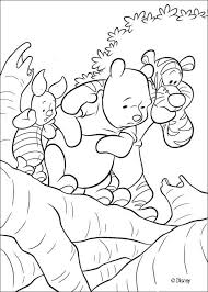 winnie pooh friends coloring pages kids coloring