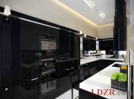 Black Painted Kitchen Cabinets by Kitchen Black Tall Kitchen Cabinet Featuring Black Kitchen Island