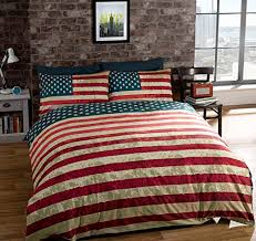 Comforter Manufacturers Usa Amazon Com Full American United States Flag Reversible Cotton
