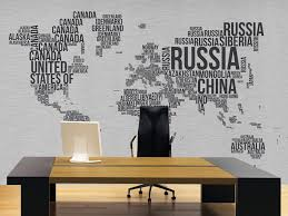 Office Wall Decorating Ideas Magnificent 60 Office Wallpaper Designs Decorating Design Of