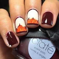 tutorial tuesday pond pumpkins nail art adventures in acetone 10