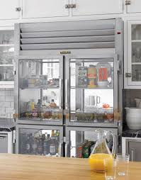 refrigerators with glass doors see the cool and the groceries 5 examples of glass doors on